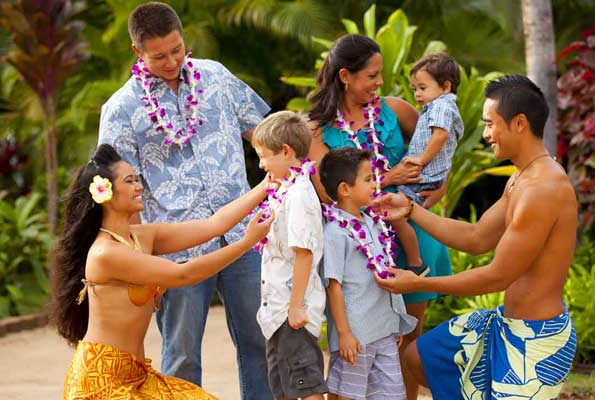Deluxe Luau Package at Paradise Cove