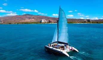 Morning Catamaran Snorkel & Sail Tour Ko Olina Ocean Adventures