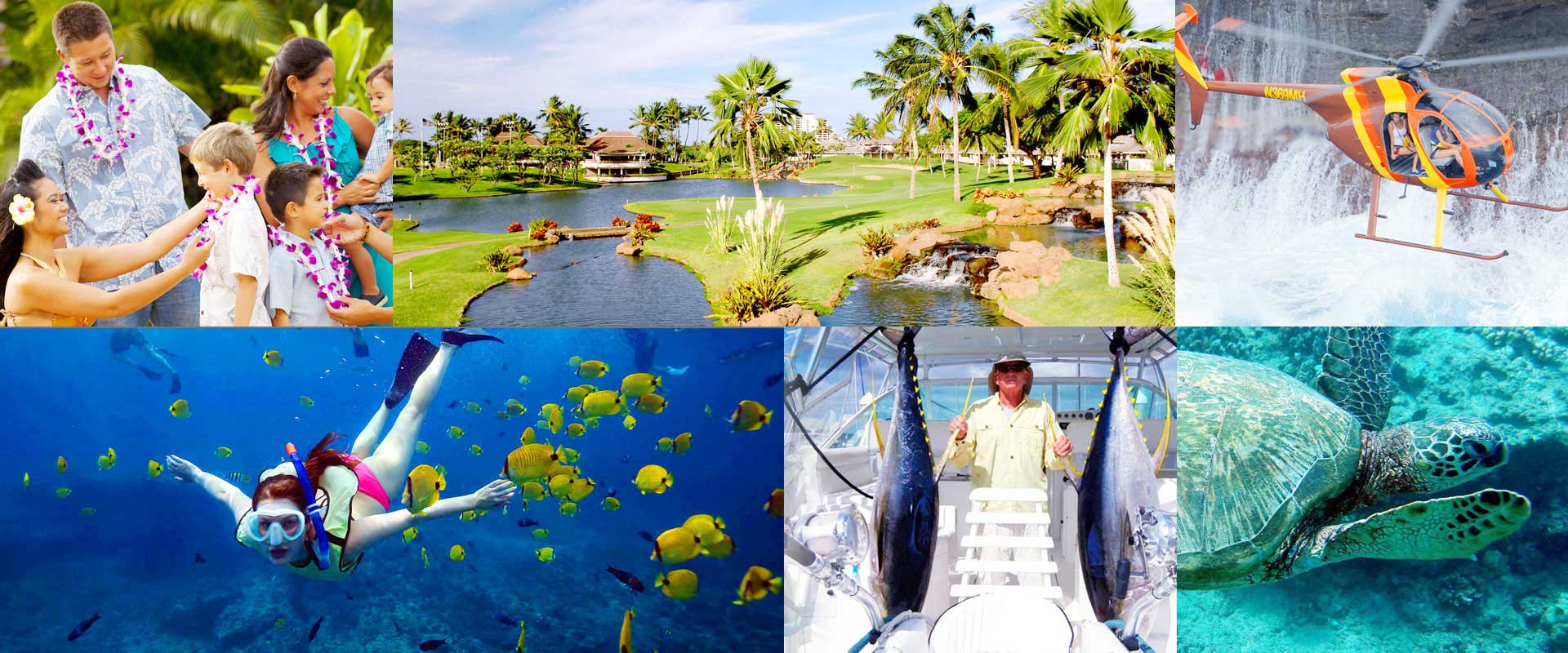 Swimming, Snorkeling, Golfing, Sport Fishing
