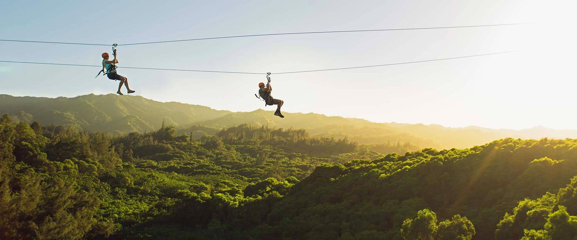 Guided Zipline Tour on Oahu's Longest Ziplines