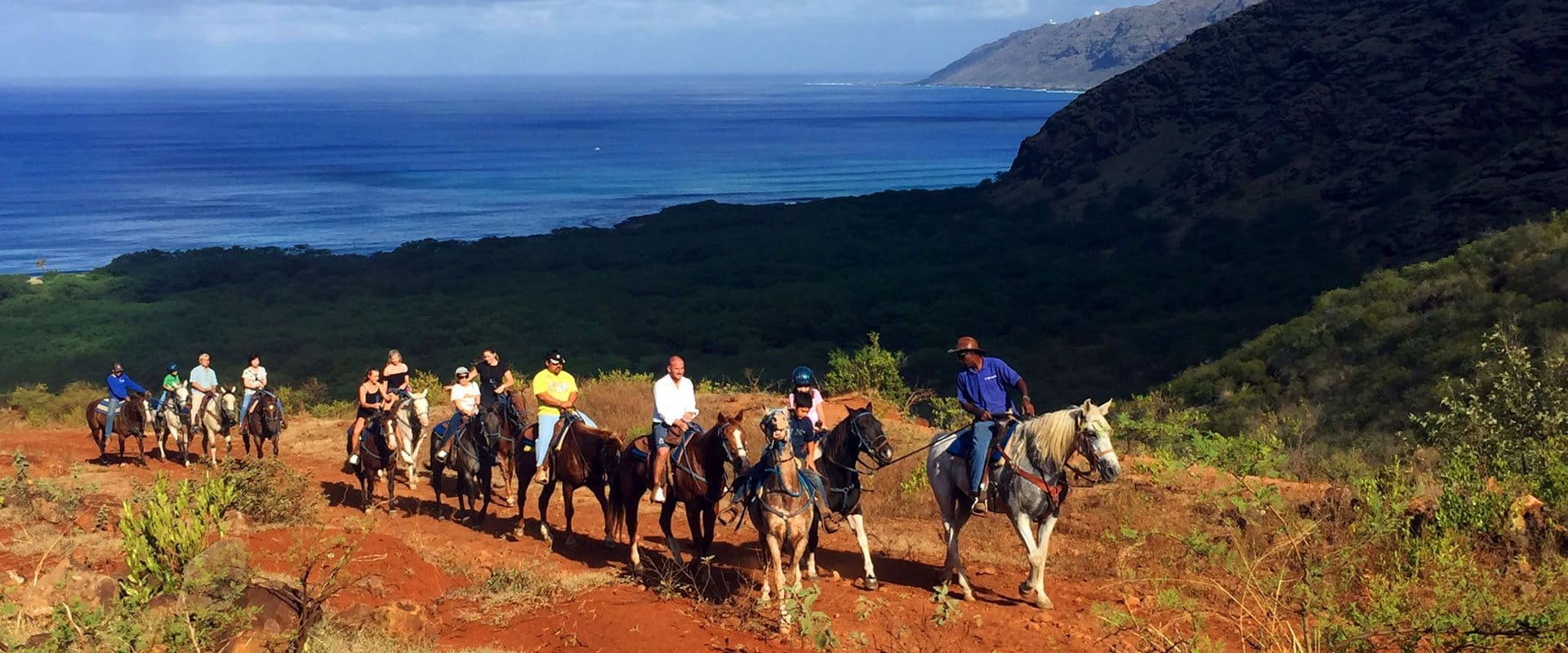 Horseback along the spectacular Mountain Range