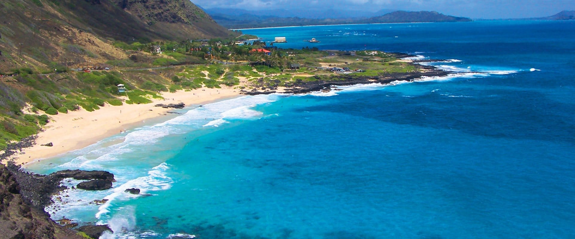 Makapuu beach and fabulous views of the Windward side