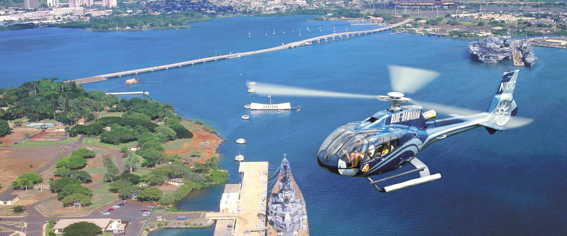 Helicopter Historic Pearl Harbor