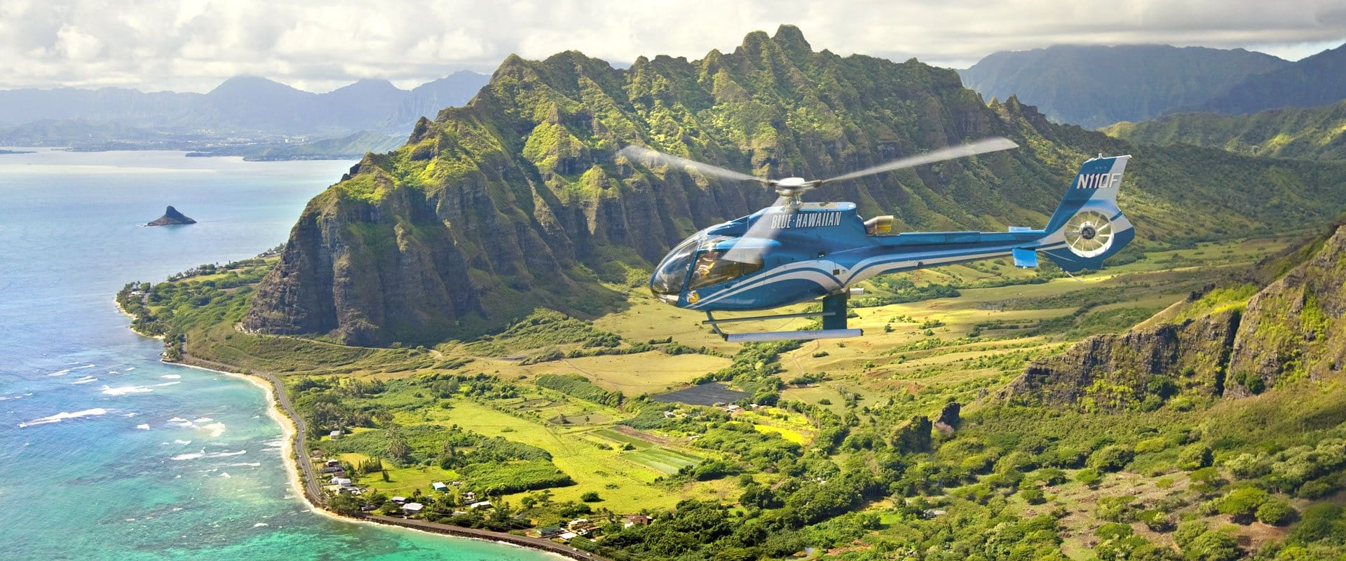 Helicopter Oahu Spectacular Tour